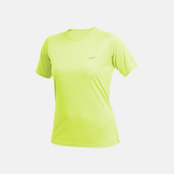 Lizard (dam) Funktion t-shirts från Craft med reklamtryck