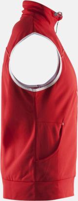 Pullovervästar från Craft i herr- och dammodell med reklamtryck