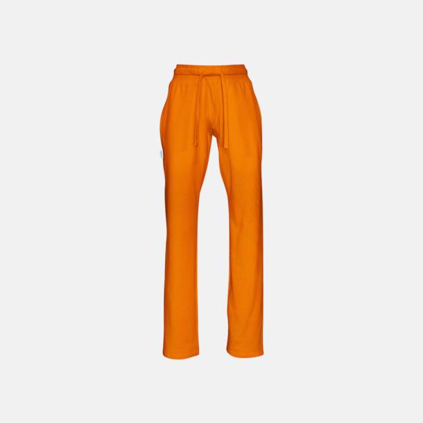 Orange (dam) Eko & Fairtrade mjukisbyxor med reklamtryck