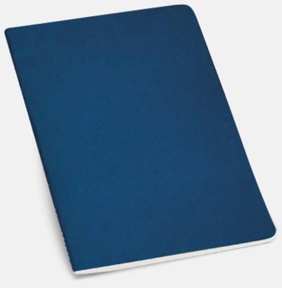 Blå A5-ekohäften i flera färger med reklamtryck