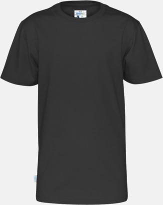 Svart (barn) Multicertifierade t-shirts med reklamtryck