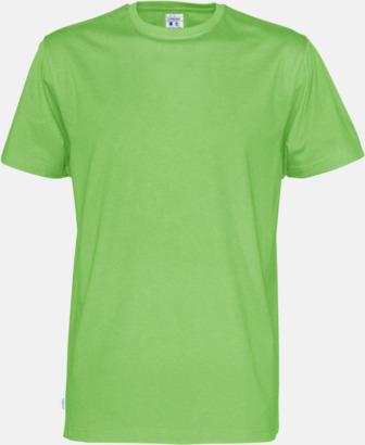 Grön (herr) Multicertifierade t-shirts med reklamtryck