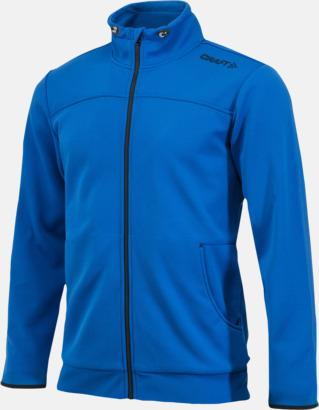 Sweden Blue Leisure Jacket (herr) Craft funktionsjacka med huva i herr- och dammodell med reklamtryck