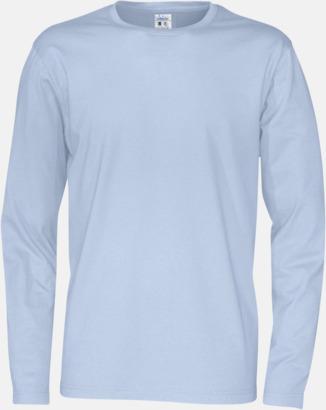 Sky (herr) Långärmade eko t-shirts med reklamtryck