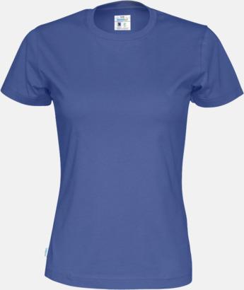 Royal (dam) Multicertifierade t-shirts med reklamtryck