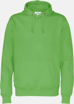 Grön (herr) Eko & Fairtrade huvtröjor med reklamtryck