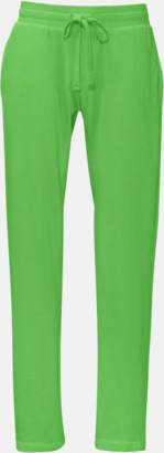 Grön (herr) Eko & Fairtrade mjukisbyxor med reklamtryck