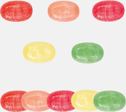 Smaker Eko-karameller & Fairtrade i flera varianter med reklamtryck