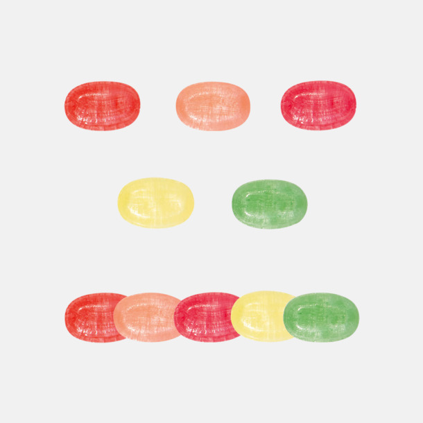 Smaker Ekologiska karameller & Fairtrade i flera varianter med reklamtryck