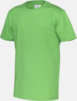 Grön (barn) Multicertifierade t-shirts med reklamtryck