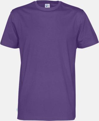 Lila (herr) Multicertifierade t-shirts med reklamtryck