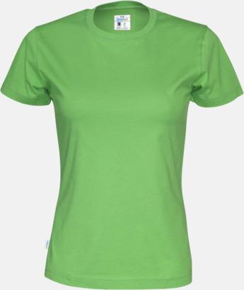 Grön (dam) Multicertifierade t-shirts med reklamtryck