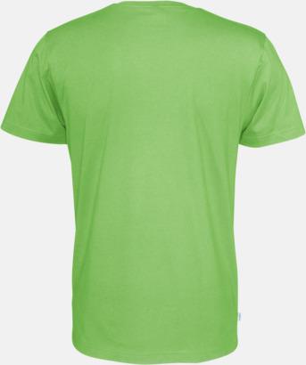 Multicertifierade t-shirts med reklamtryck