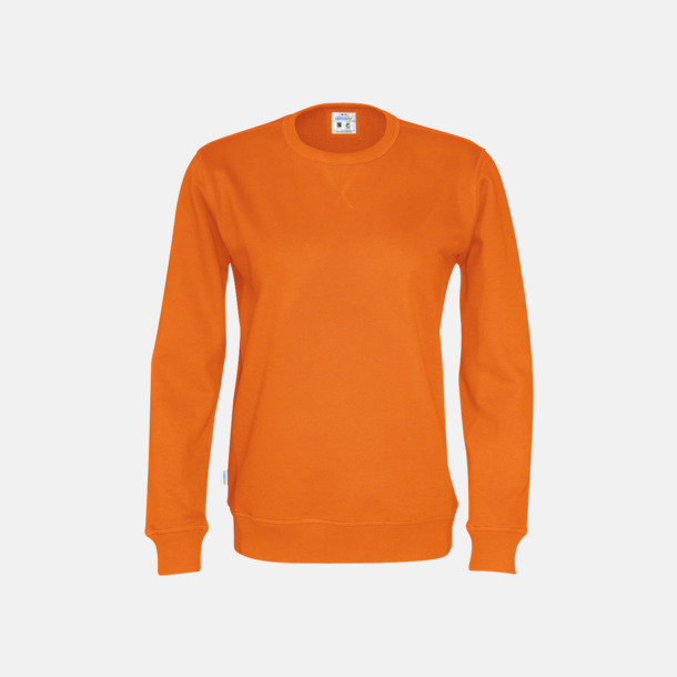 Orange (unisex) Vuxen- och barntröjor i eko & Fairtrade bomull med reklamtryck