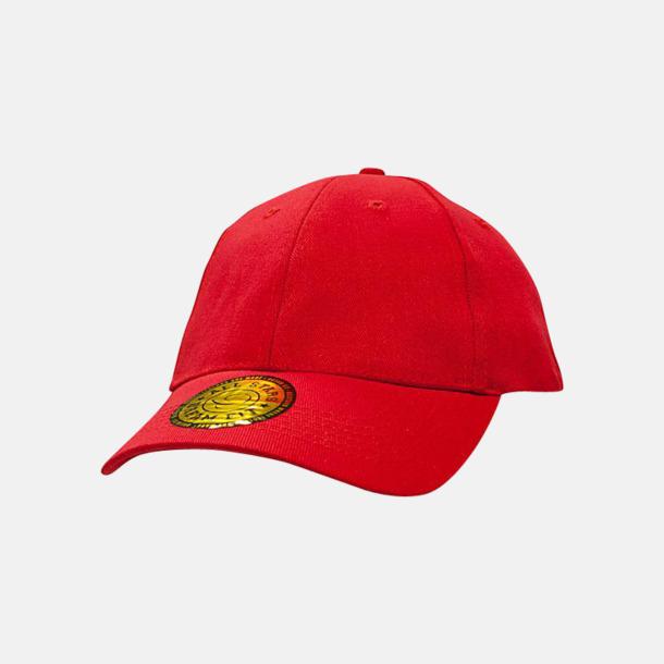 Röd Fina DreamFit-kepsar med reklambrodyr