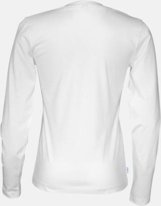 Långärmade eko t-shirts med reklamtryck
