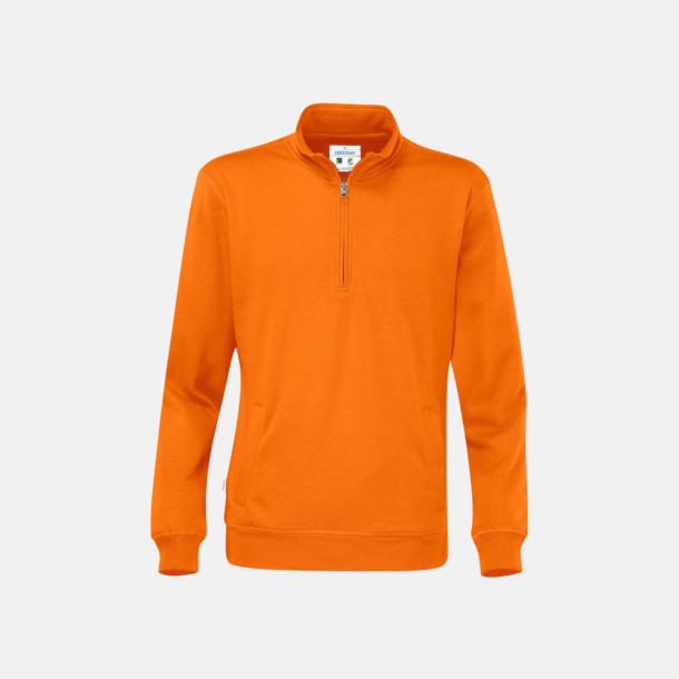 Orange Eko & Fairtrade tjocktröjor med reklamtryck