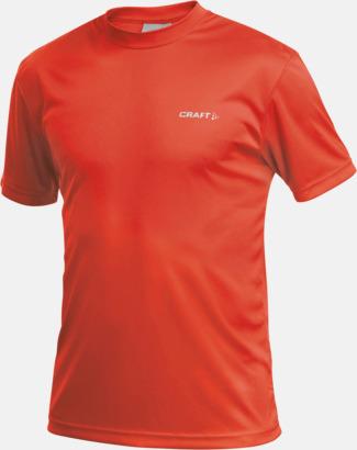 Cocktail (herr) Funktion t-shirts från Craft med reklamtryck
