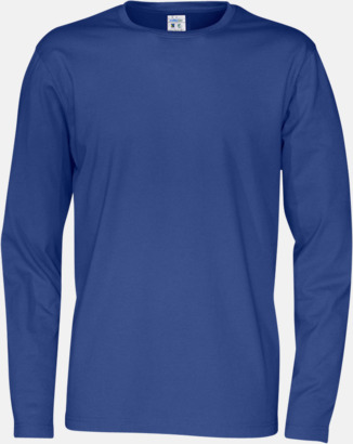 Royal (herr) Långärmade eko t-shirts med reklamtryck