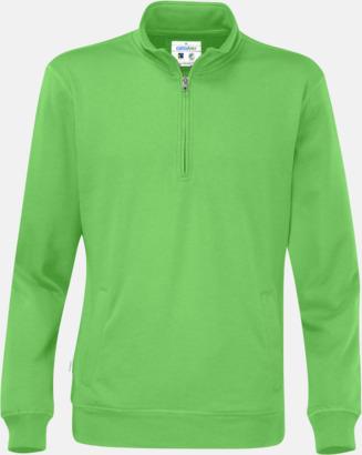 Grön Eko & Fairtrade tjocktröjor med reklamtryck