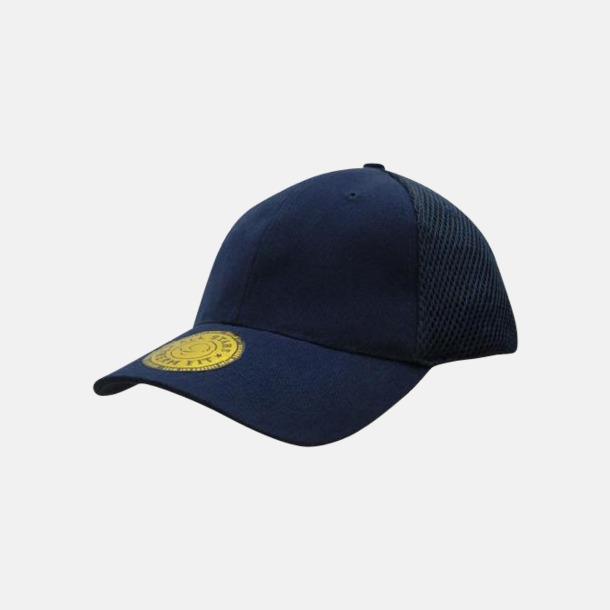 Marinblå Bekväma kepsar med reklamlogga