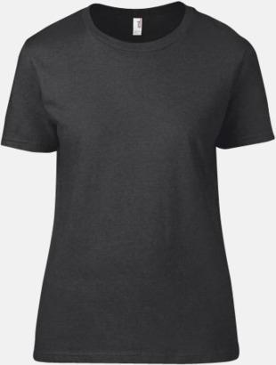 Heather Dark Grey (dam) Snygga bas t-shirts för herr, dam & barn - med reklamtryck