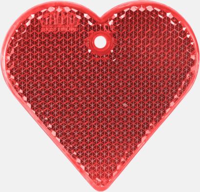Hjärta (röd) En hängreflex i mängder av olika former och färger