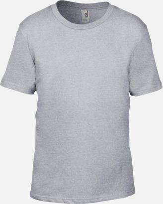 Heather Grey (barn) Snygga bas t-shirts för herr, dam & barn - med reklamtryck