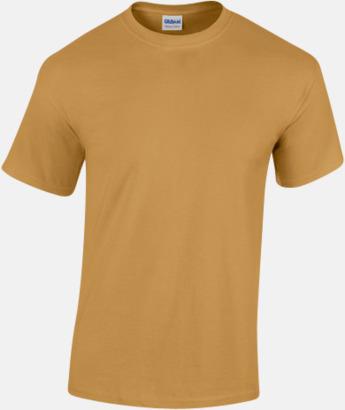 Old Gold (herr) Fina bomulls t-shirts för herr, dam & barn med reklamtryck