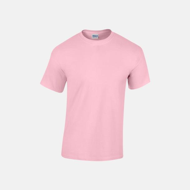 Ljusrosa (herr) Fina bomulls t-shirts för herr, dam & barn med reklamtryck