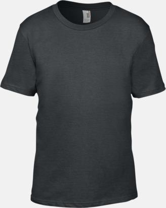 Charcoal (barn) Snygga bas t-shirts för herr, dam & barn - med reklamtryck