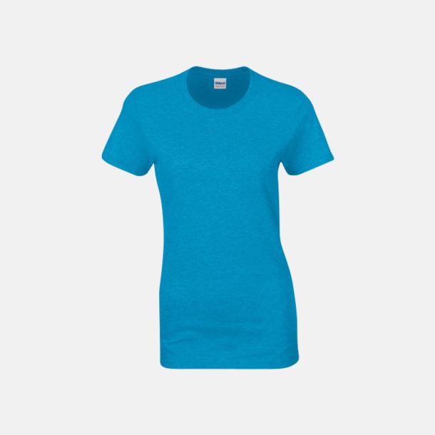 Heather Sapphire (dam) Fina bomulls t-shirts för herr, dam & barn med reklamtryck