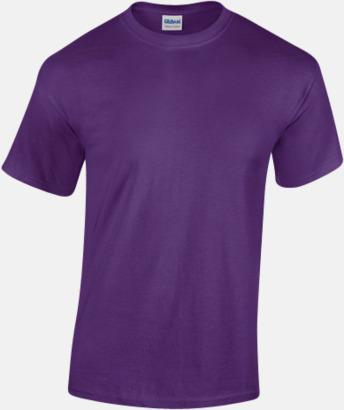 Purple (herr) Fina bomulls t-shirts för herr, dam & barn med reklamtryck