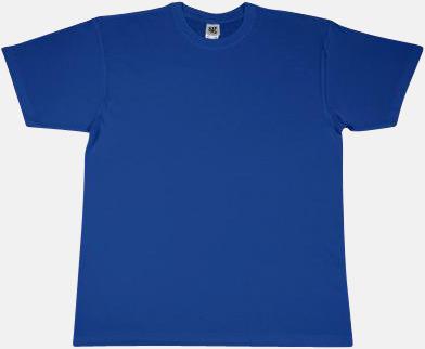 Royal Extra fina t-shirts i herr-, dam- och barnmodell med reklamtryck