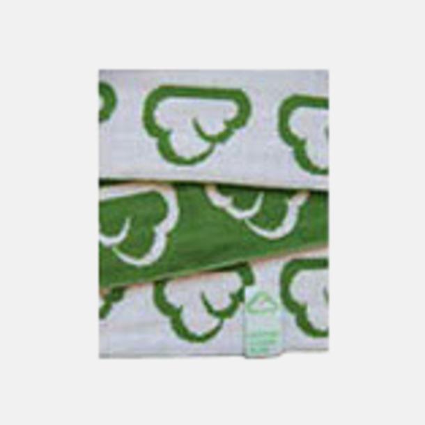 Finstickade halsdukar med vävd etikett