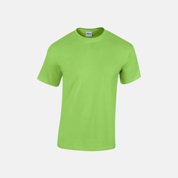 Lime (herr) Fina bomulls t-shirts för herr, dam & barn med reklamtryck