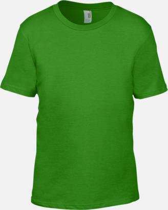 Green Apple (barn) Snygga bas t-shirts för herr, dam & barn - med reklamtryck