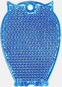 Uggla (blå) En hängreflex i mängder av olika former och färger