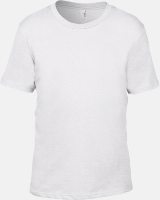 Vit (barn) Snygga bas t-shirts för herr, dam & barn - med reklamtryck