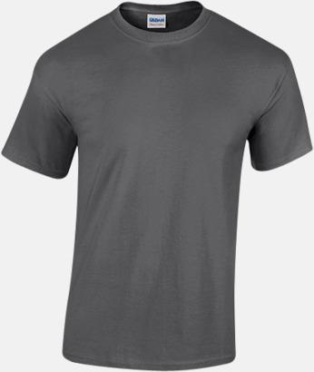 Dark Heather (herr) Fina bomulls t-shirts för herr, dam & barn med reklamtryck
