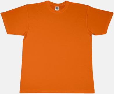 Bright Orange Extra fina t-shirts i herr-, dam- och barnmodell med reklamtryck