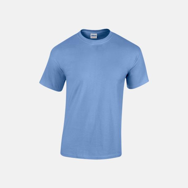 Carolina Blue (herr) Fina bomulls t-shirts för herr, dam & barn med reklamtryck