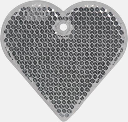 Hjärta (glasklar) En hängreflex i mängder av olika former och färger