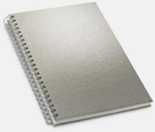 Hardcover Silver A5