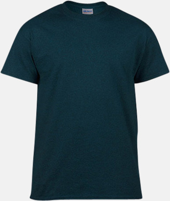 Midnight heather (herr) Fina bomulls t-shirts för herr, dam & barn med reklamtryck