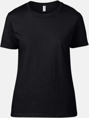 Svart (dam) Snygga bas t-shirts för herr, dam & barn - med reklamtryck