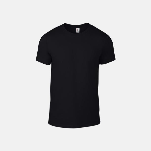 Svart (herr) Snygga bas t-shirts för herr & dam - med reklamtryck