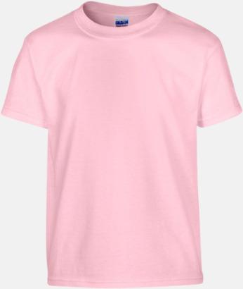Ljusrosa (barn) Fina bomulls t-shirts för herr, dam & barn med reklamtryck