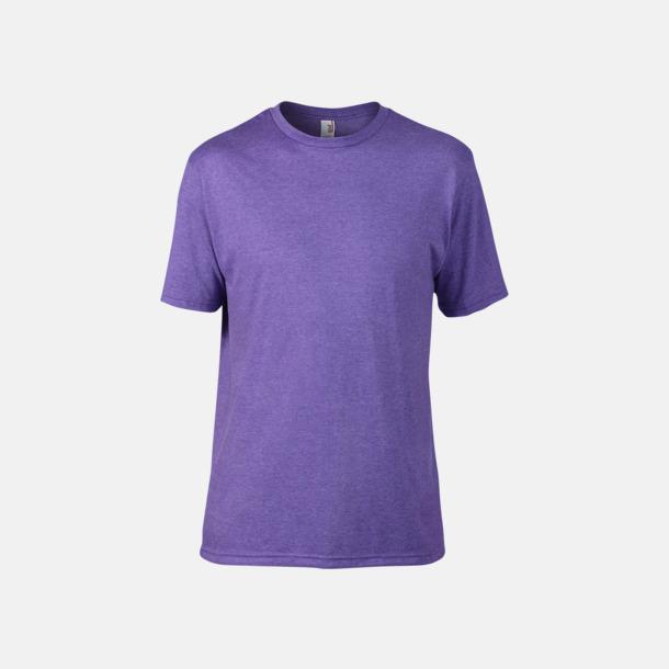 Heather Purple (herr) Snygga bas t-shirts för herr & dam - med reklamtryck