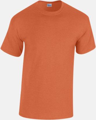 Antique Orange heather (herr) Fina bomulls t-shirts för herr, dam & barn med reklamtryck